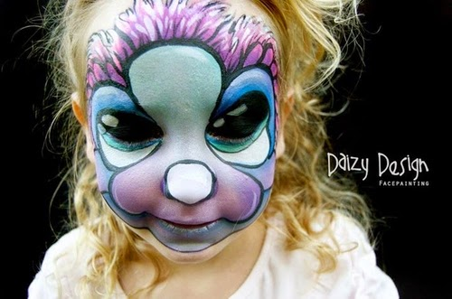 16-Christy Lewis Daizy-Face Painting - Alternate Personalities-www-designstack-co