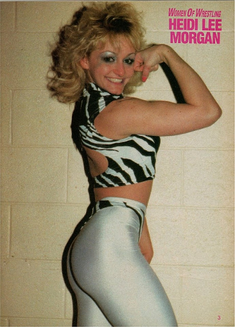 Heidi Lee Morgan - Womens Pro Wrestling