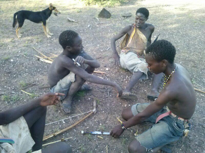 Hadzabe Hunters in Lake Eyasi Tanzania
