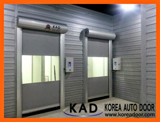 Fast operation and great sealing function is the main advantages of KAD high speed doors.