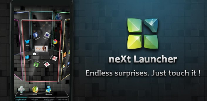 Next Launcher 3D v1.15 Apk App