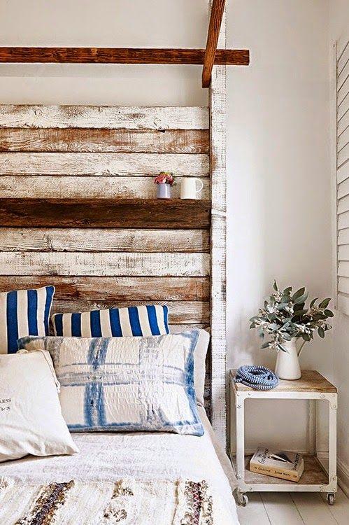 Cama reutilize madeira usada