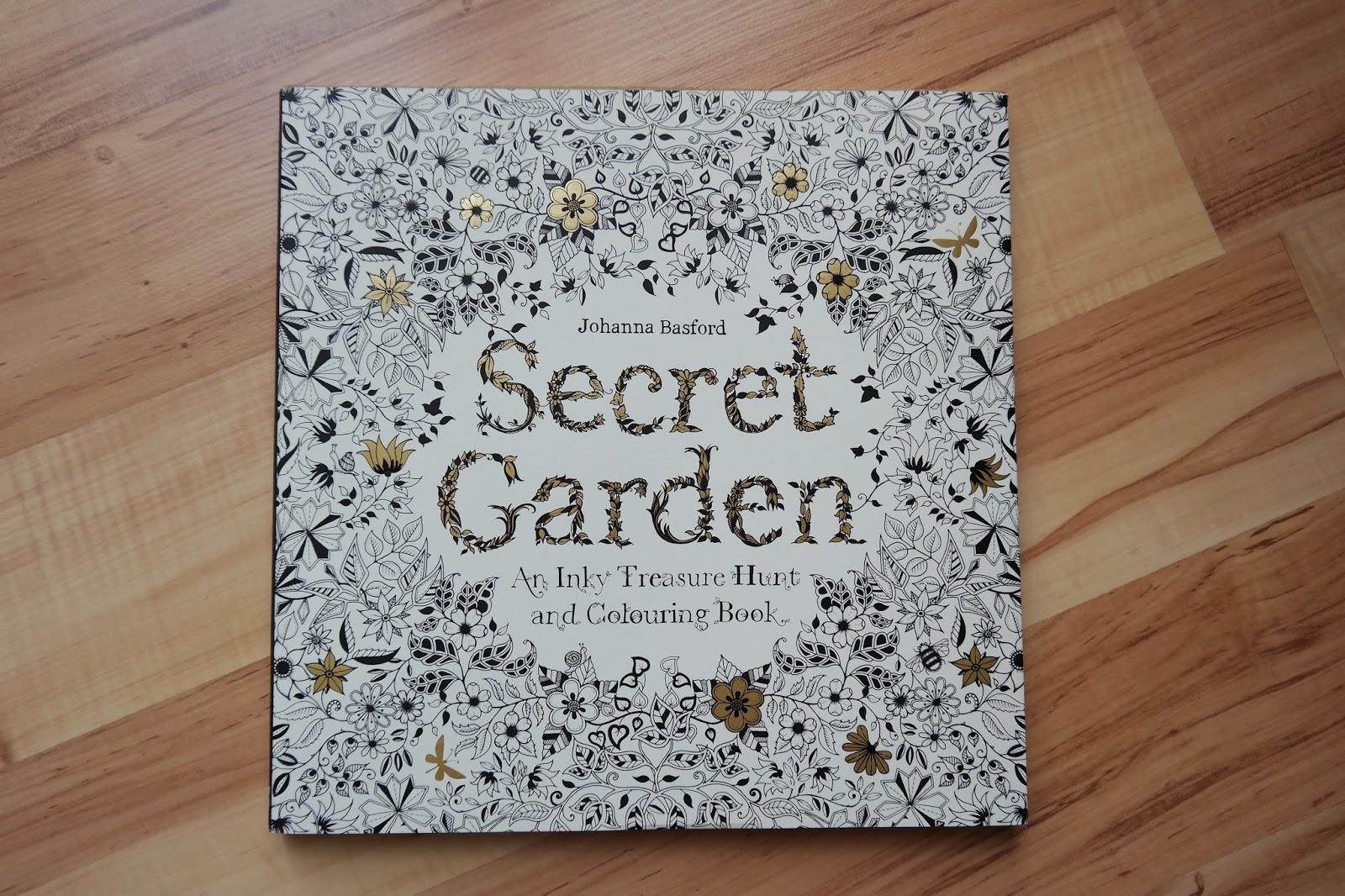Ausmalbuch Secret Garden