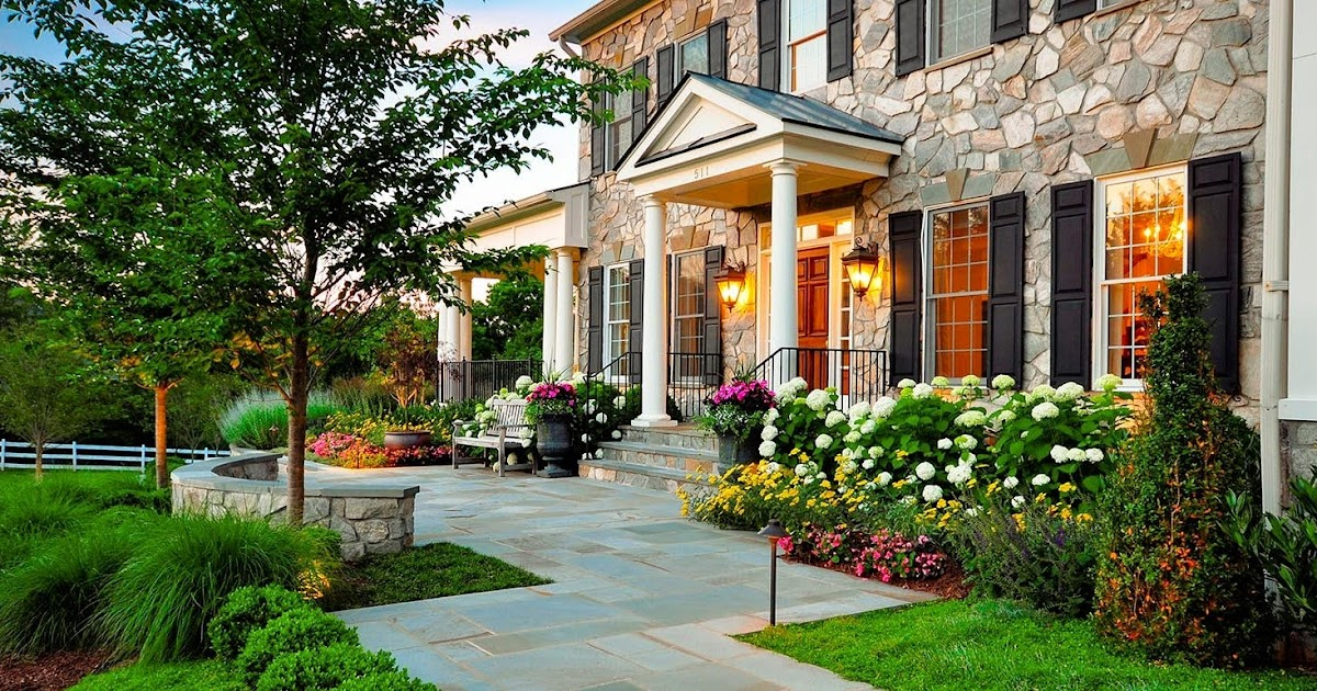 Amazing landscaping ideas for front yards for Amazing front yard landscaping
