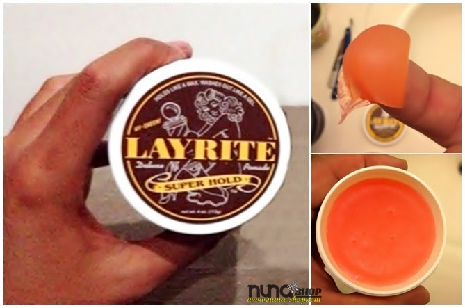 Minyak Rambut Layrite Super Hold  Pomade Made In USA