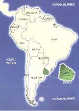 Nuestro país en América del Sur