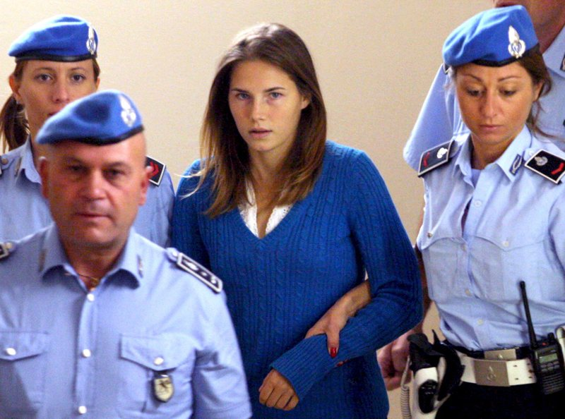 Italian police have indicted Amanda Knox's parents for comment they made to