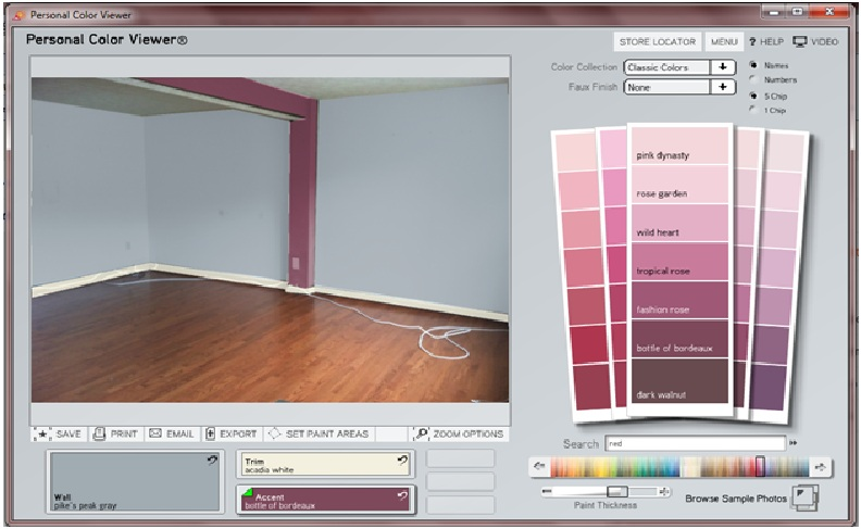 Making Our House A Home How To Use Benjamin Moore 39 S Paint Visualizer