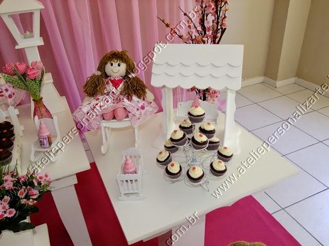 Decoração festa infantil Bonecas de Pano provençal