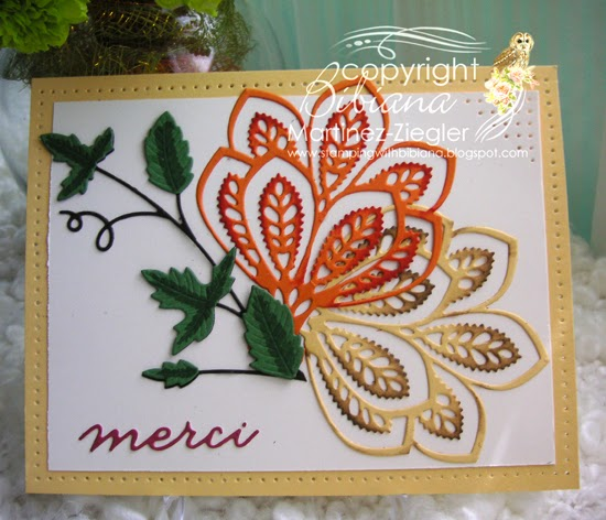 fall brea ornament merci card