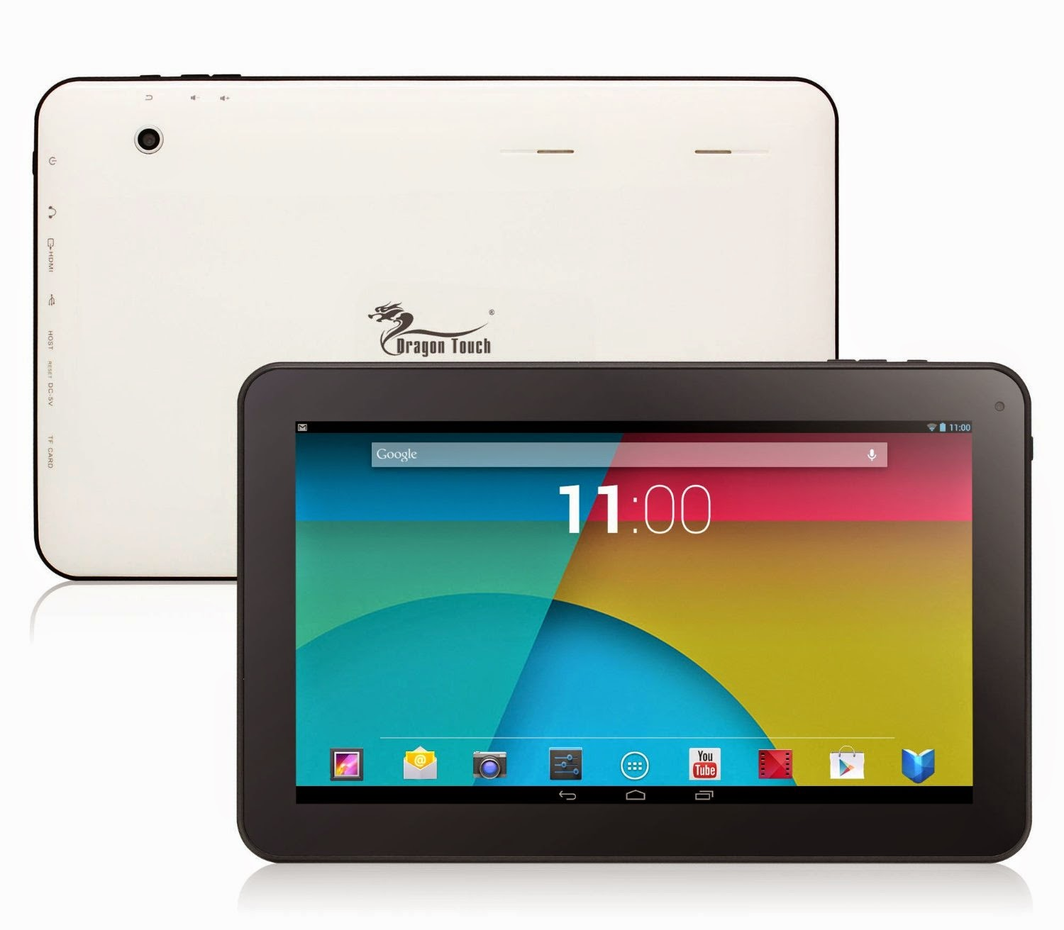 "Dragon Touch A1X 10.1"" Quad Core Google Android 4.4 KitKat Tablet PC review 2014"