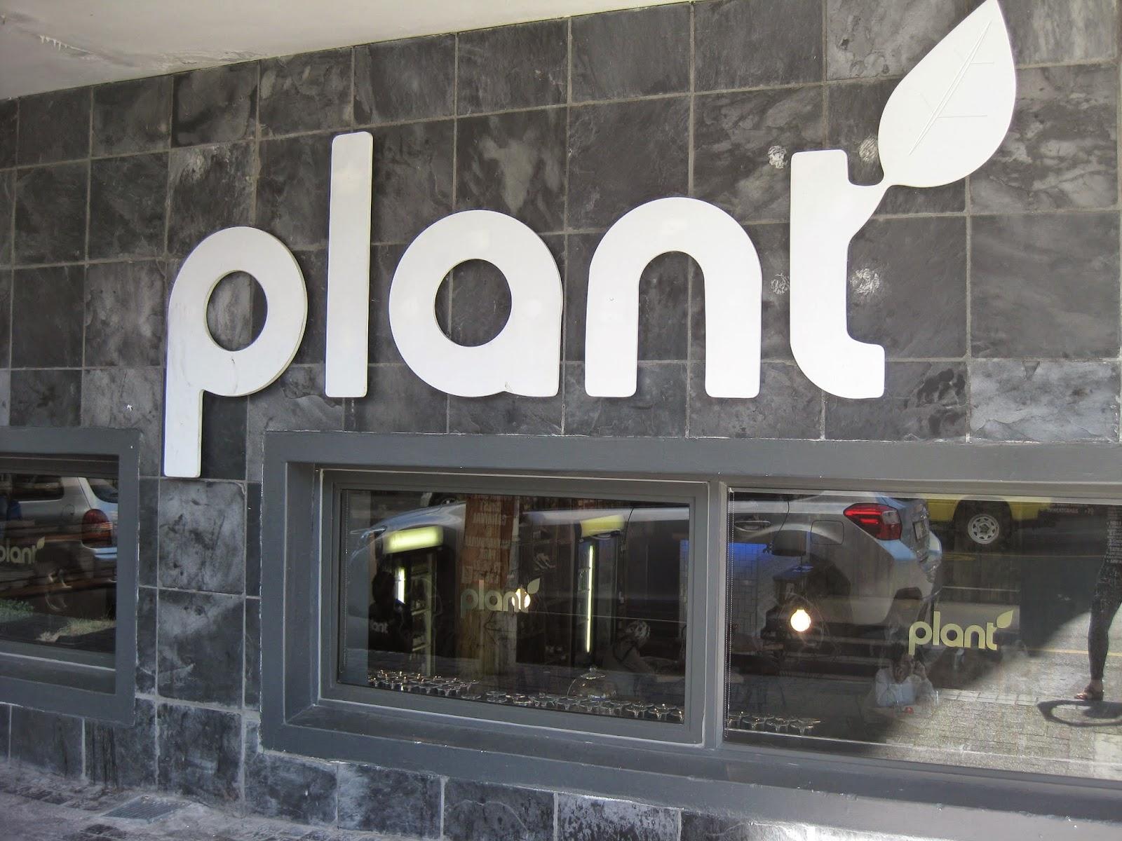 Plant Cafe, Cape Town