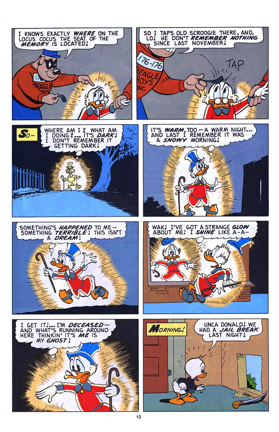 Uncle Scrooge (1953) Issue #273 #273 - English 13