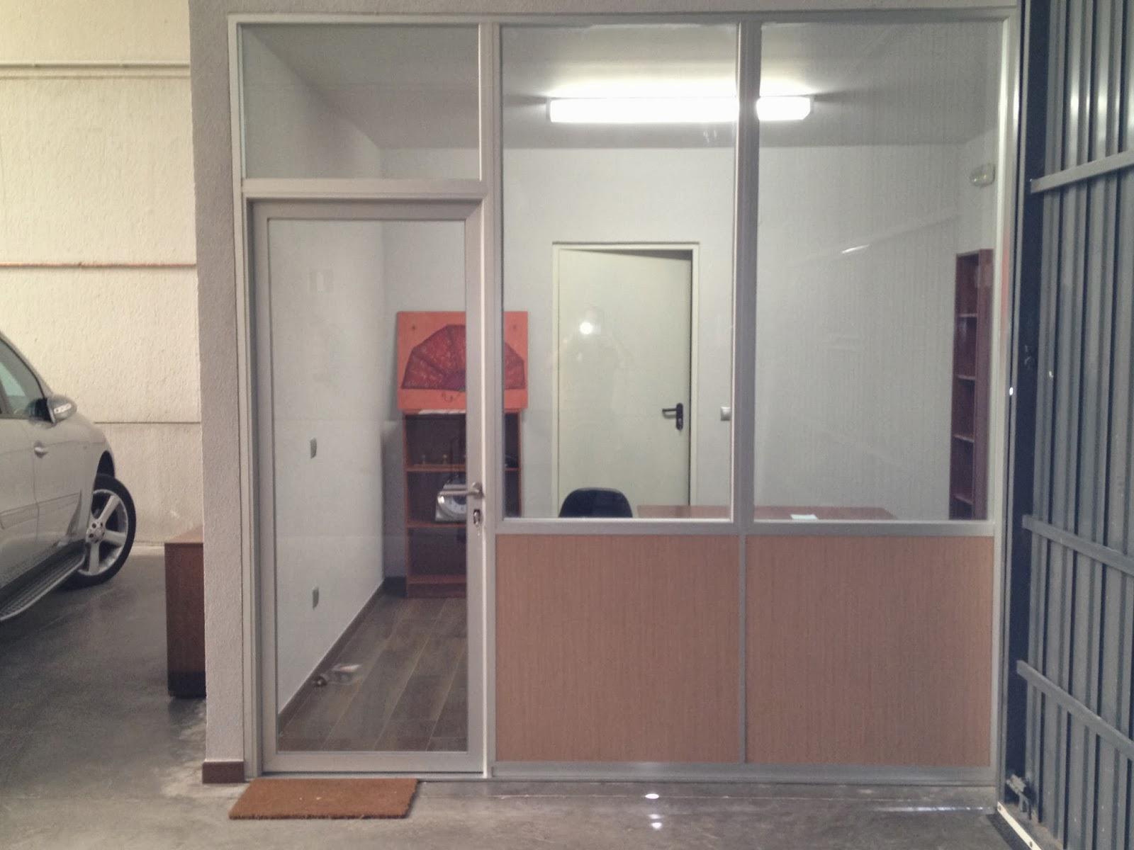 Mamparas de oficina dise o fabricaci n y montaje for Espacios para oficinas
