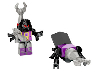 Hasbro Transformers Kre-O Micro Changers Series 2 - Bombshell (Insecticon)