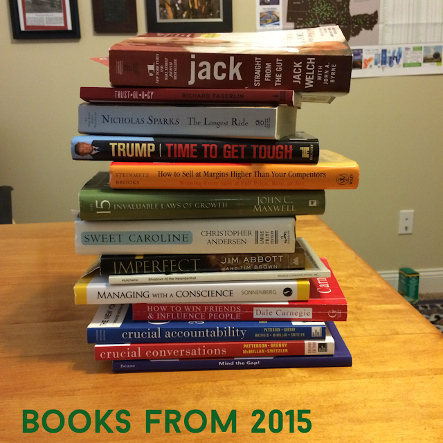 Books read 2015