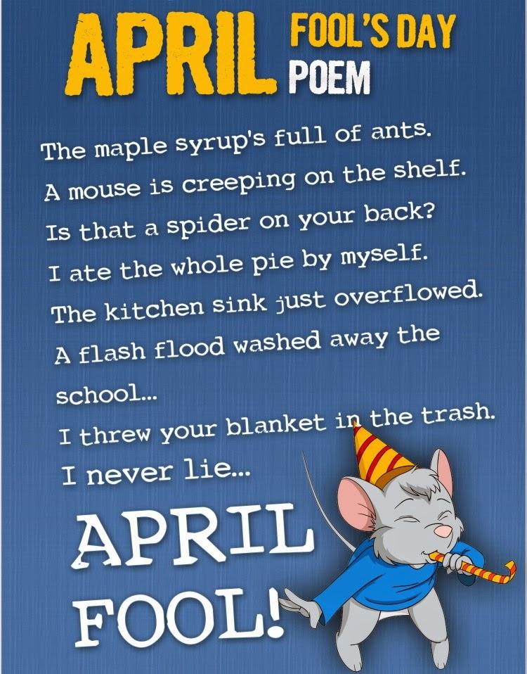 Happy April Fools Day Poems 2015
