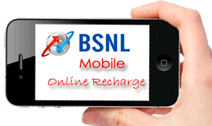 BSNL Mobile Online Recharge through Portal