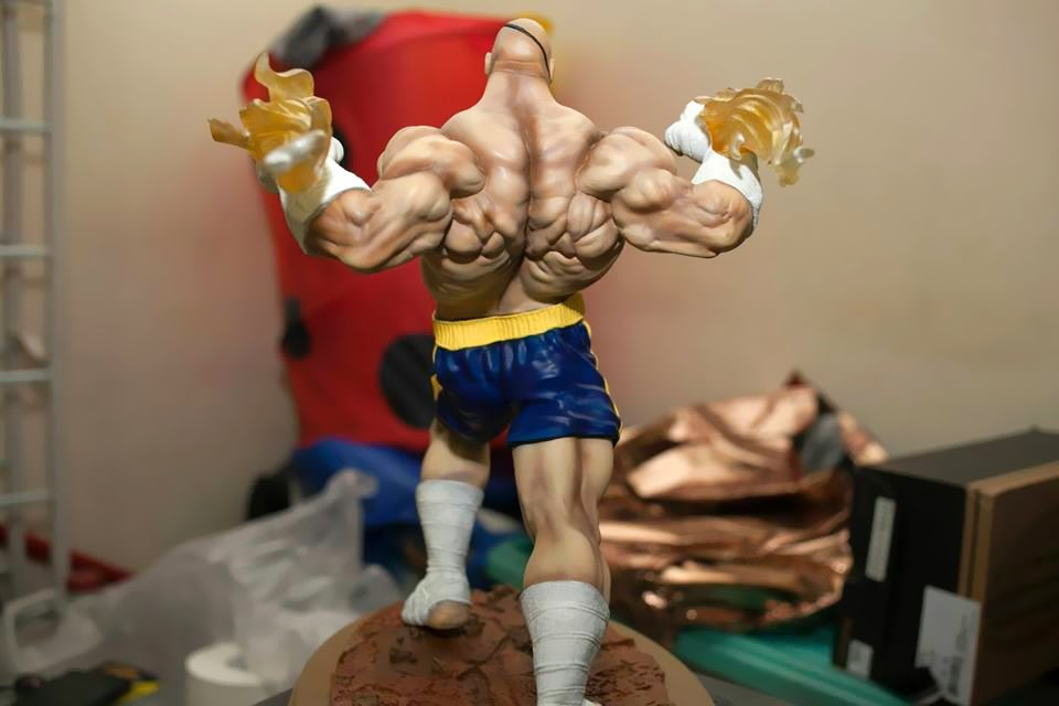 Prototype Z Sagat modeled by Kisapmataphoto