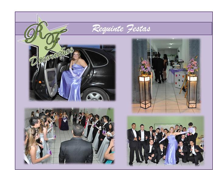 Festa de Debutante Realizada no Requinte Festas