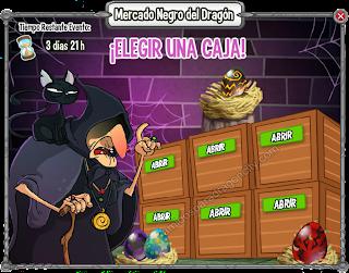 imagen de eligiendo una lista del mercado negro del dragon