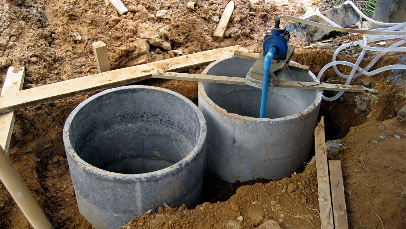 Cleaning and treating water the natural way types of for How to build septic tank