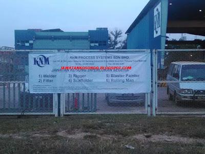 Temuduga Terbuka Knm Process Sdn Bhd
