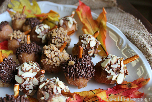 Adorable Acorn Donut Treats
