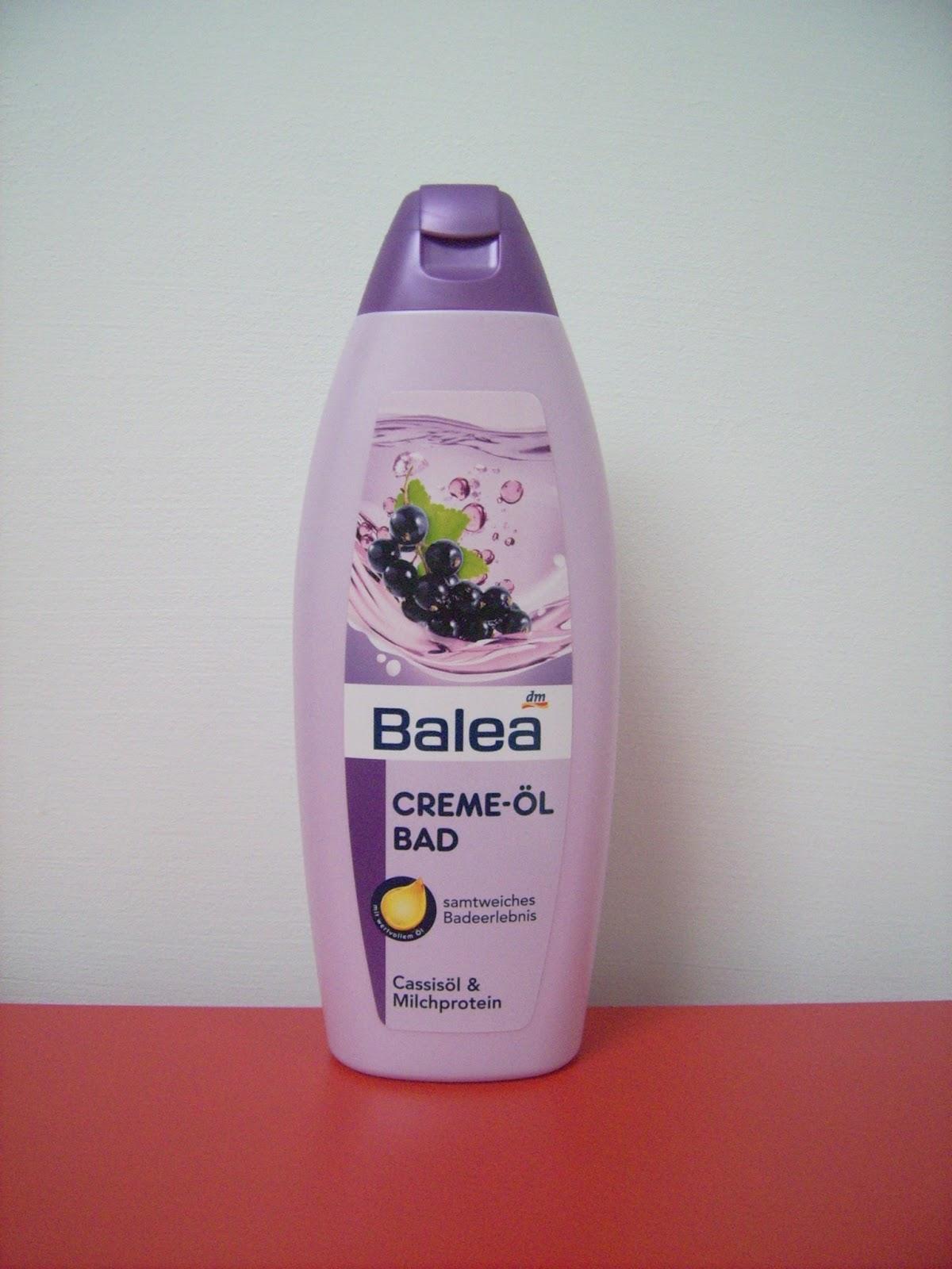 bubble bath blackcurrant balea