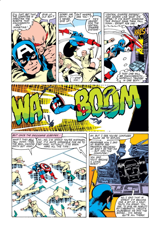 Captain America (1968) Issue #249 #164 - English 17