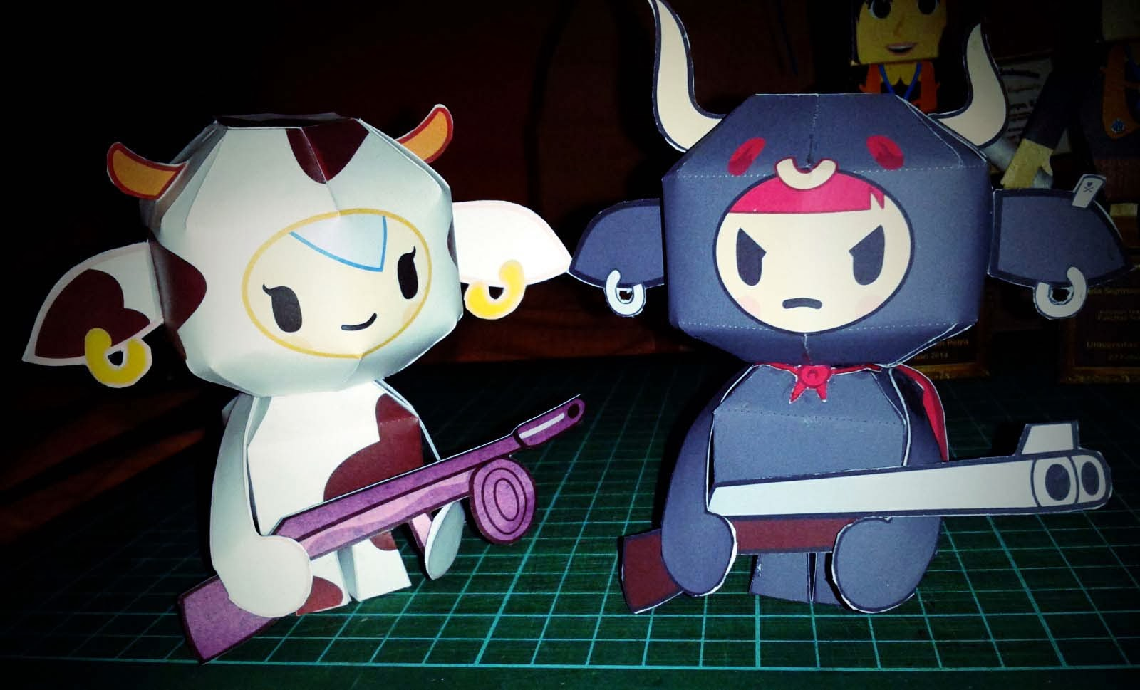 Bulletto Papercraft