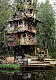 Life-size Fairy House