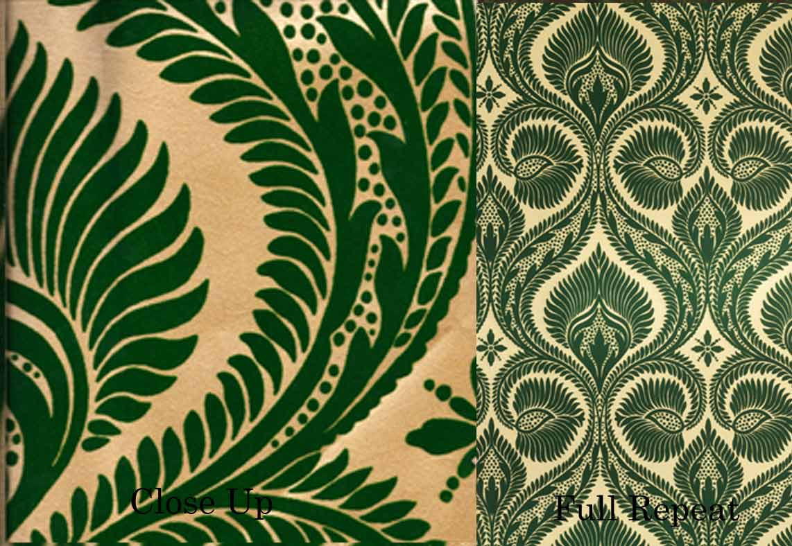 Make it all up the great look of gatsby for Wallpaper prints patterns