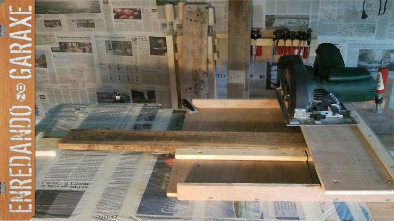 How to make a circular saw cross cut jig, enredandonogaraxe