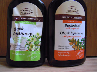 Jaki olej nakładam na skalp - czyli o olejkach  z Green Pharamcy RECENZJA