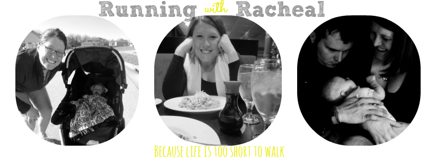 Running with Racheal