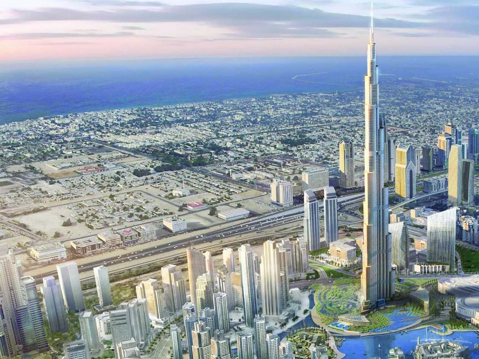 World Largest Tower Downtown Burj Dubai Hd Wallpapers