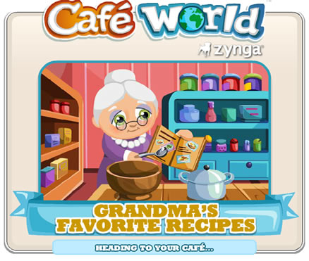 Top 10 List of Most Popular Facebook Games 2013 CAFE WORLD