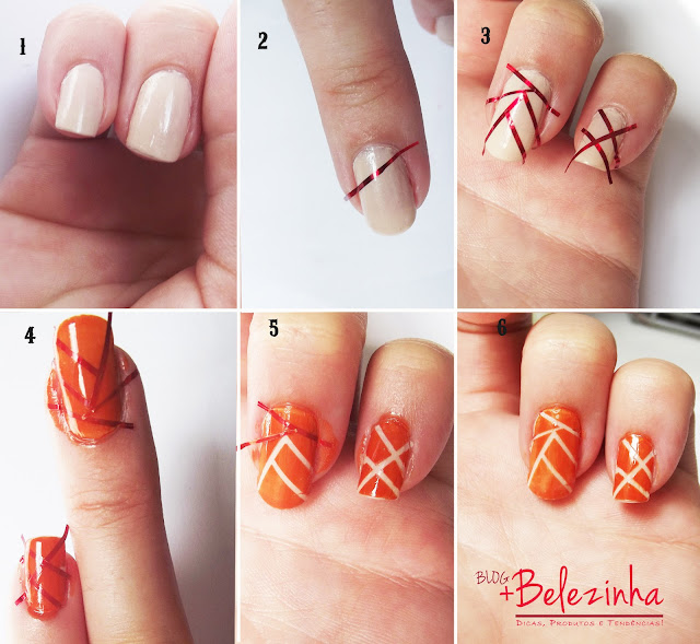 nail-art-unha-geométrica-passo-a-passo