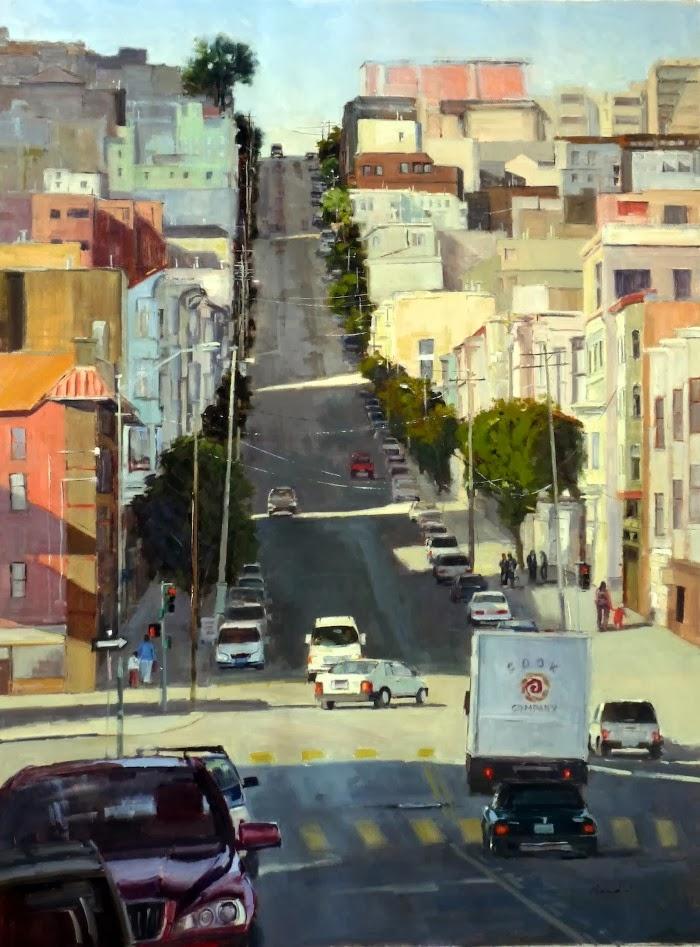 Городские пейзажи. Philippe Gandiol