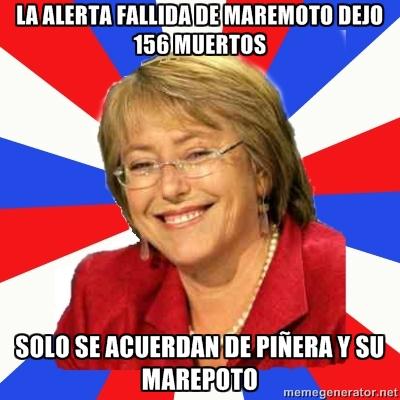 Bachelet y sus Bachelicosas Bachelet