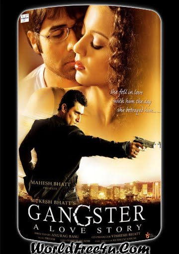 Poster Of Bollywood Film Gangster (2006) In 300MB Compressed Size PC Movie Free Download At World4ufree.Org