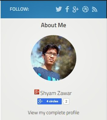 about me profile