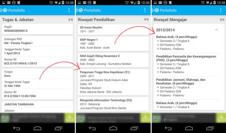 Cara Mudah Mengetahui Status PTK Dengan Aplikasi Android 5