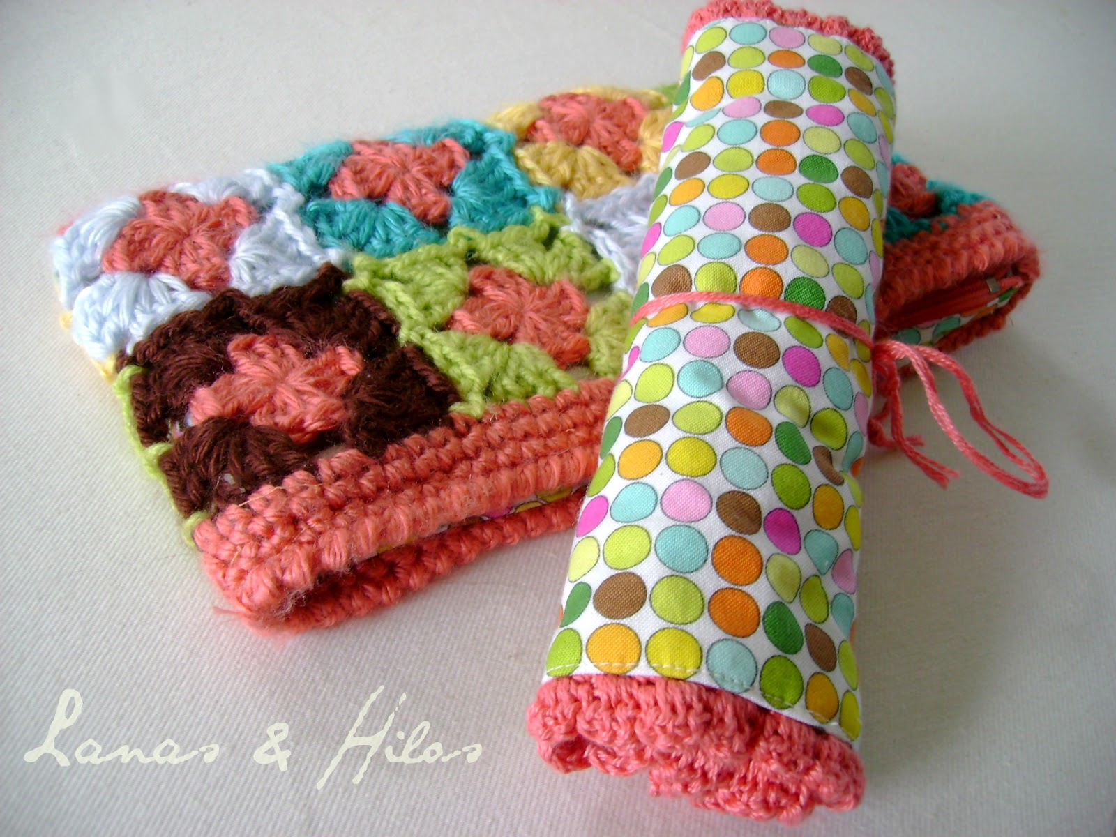 Crochet Gifts : mom hada special surprise for our little knitting group: two crochet ...