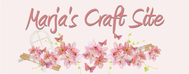 marja's craft site