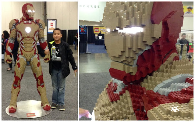 LEGO Creativity Tour [photos] Ironman