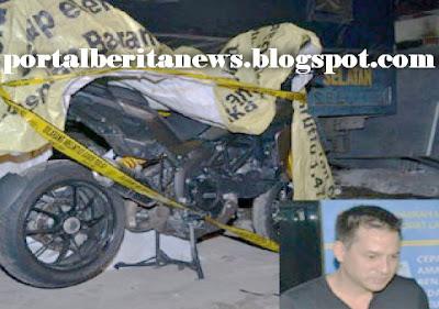VIDEO REKAMAN CCTV TRAGEDI KECELAKAAN ARI WIBOWO SEPEDA MOTOR DUCATI MENABRAK KAKEK BERUMUR 80 TAHUN