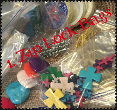 1. Zip Lock Bags