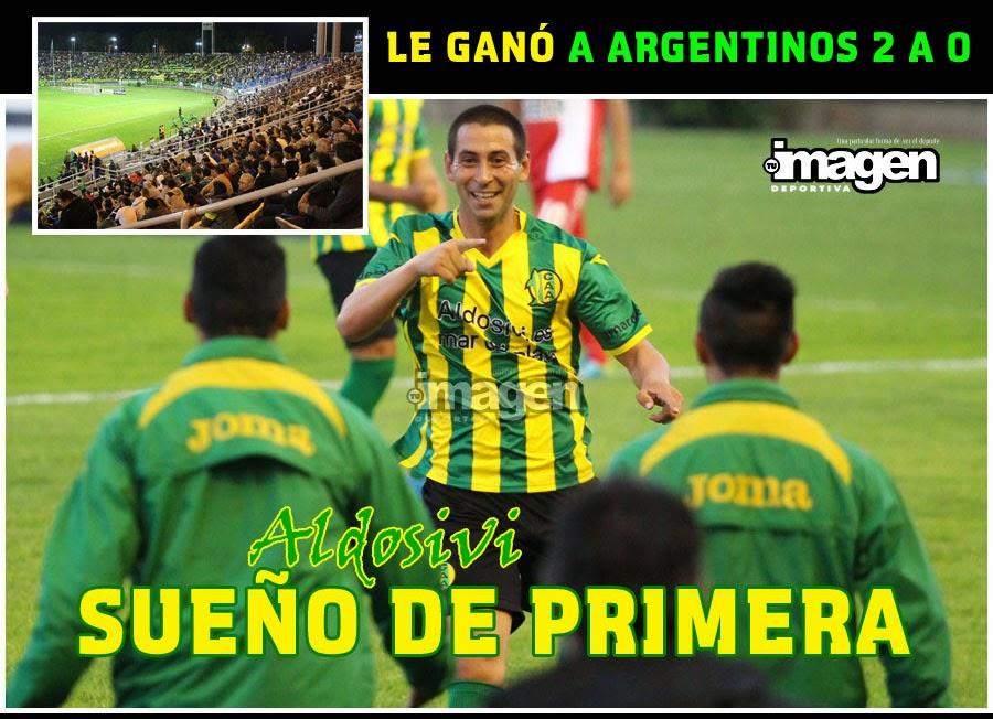 """B"" NACIONAL . ALDOSIVI 2 ARGENTINOS JRS 0"
